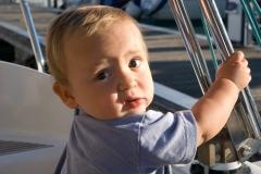 Agosto 2010: in barca